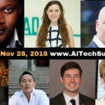 Ai Tech Summit 2018 Announces First Set of Speakers